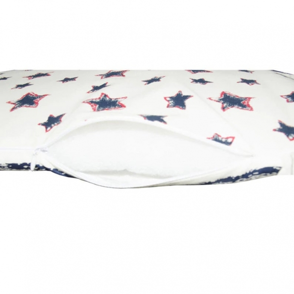 Pillow cover ON SALE for railed bed, Soft cotton gauze bumper for baby bed, Baby Bed Bumper, Superstar baby nursery crib bumper pad