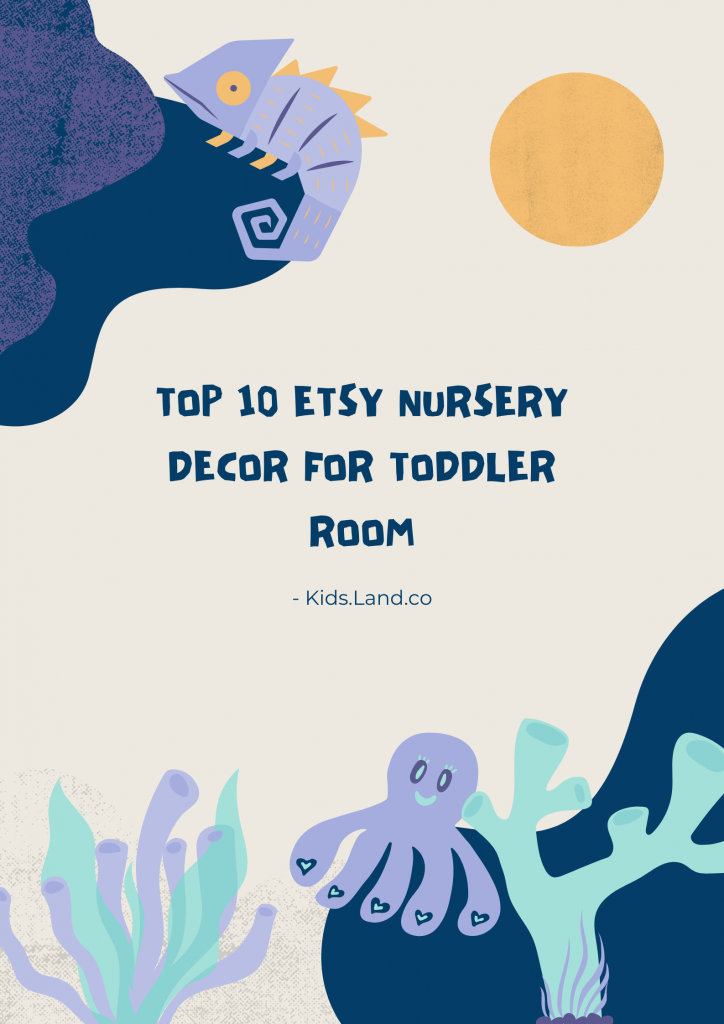 Top 10 Etsy Nursery Decor for toddler room