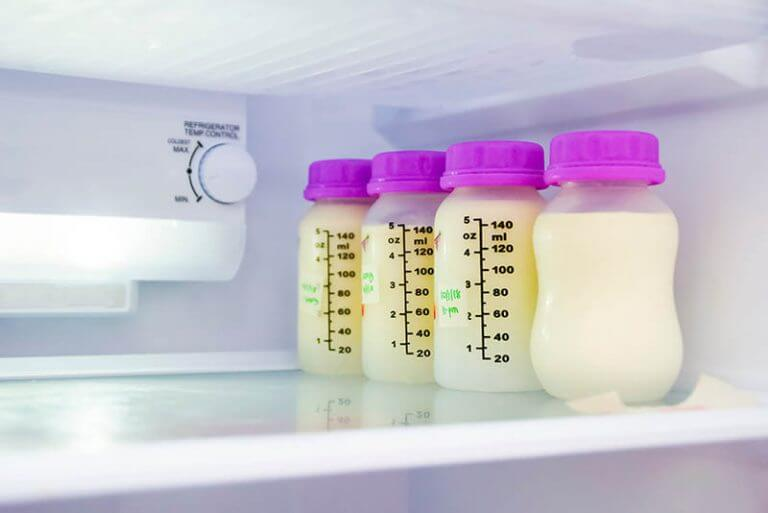 How long can breast milk stay out of the refrigerator